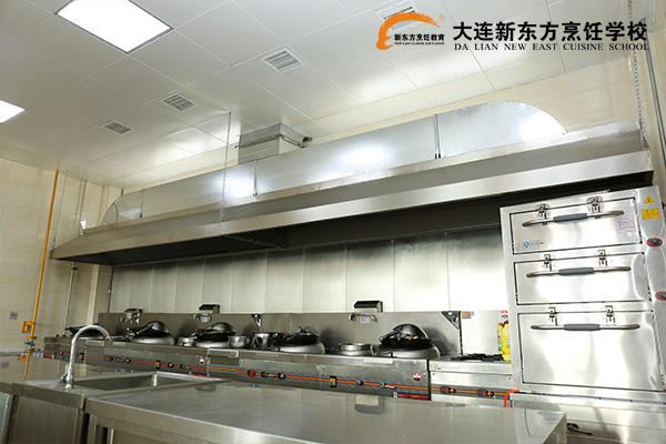 大连新东方中餐教室