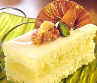 香喷喷的奶香芝麻蛋糕的制作方法分享
